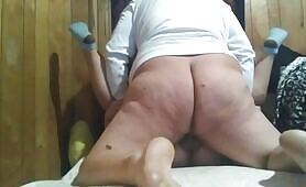 Married women visits latin big booty shemale and cheats on her husband big time!
